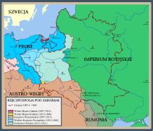 Polska okresu rozbiorów po kongresie wiedeńskim