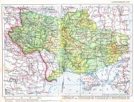 Ukraińska SRR 1940 – z anektowanym w 1939 terytorium II Rzeczypospolitej